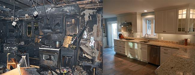 Fire Damage Restoration Massachusetts Smoke CLean